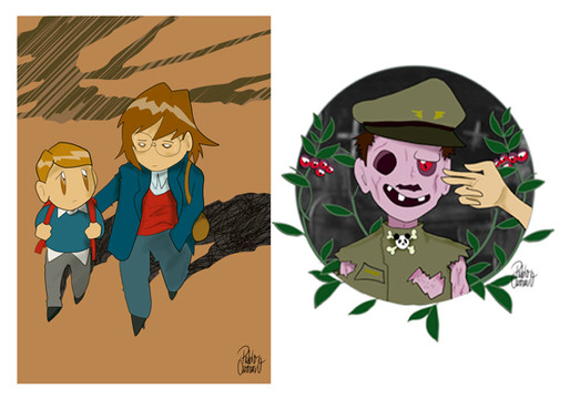 Genetic sadness & How to kill a zombie.j