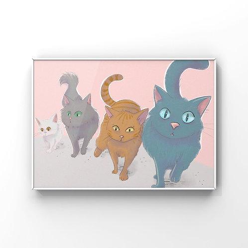 "PRINT ""Gatos callejeros"""