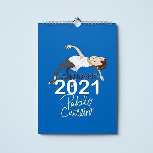 CALENDARIO 2021- Pablo Carreiro