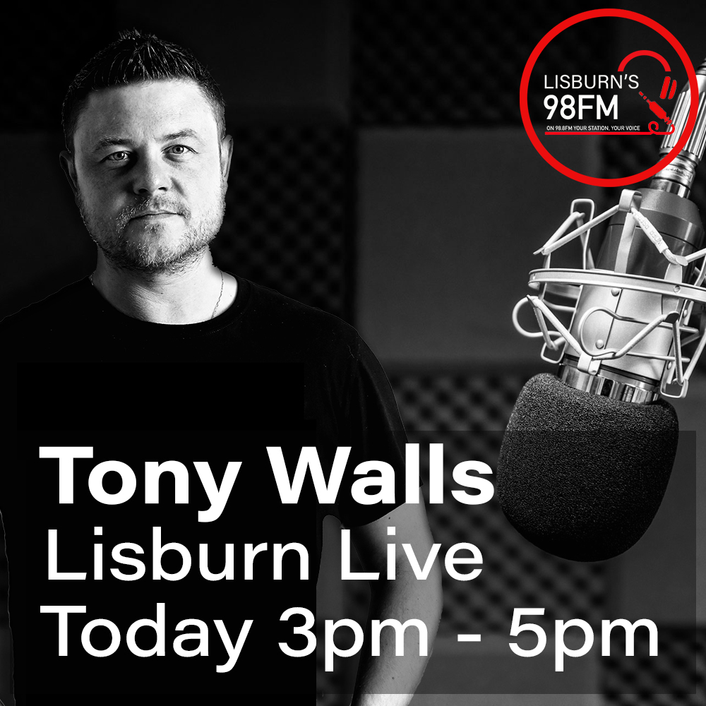 Tony Walls Lisburn Live