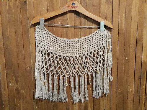 Pareo Tejido A Mano En Crochet