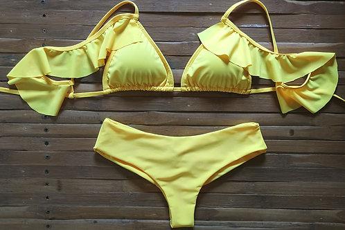 Bikini amarillo bolero