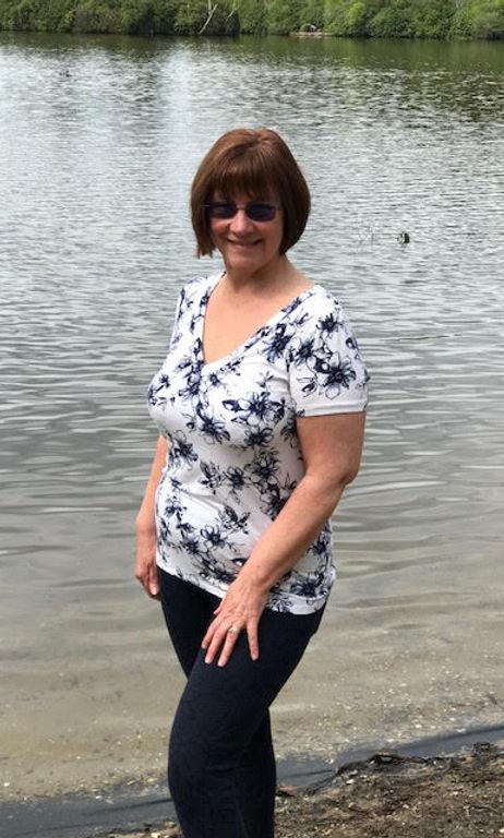 Photo of Nadine Green at Hawley Lake
