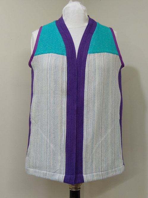 Turquoise-Purple Ice Vest