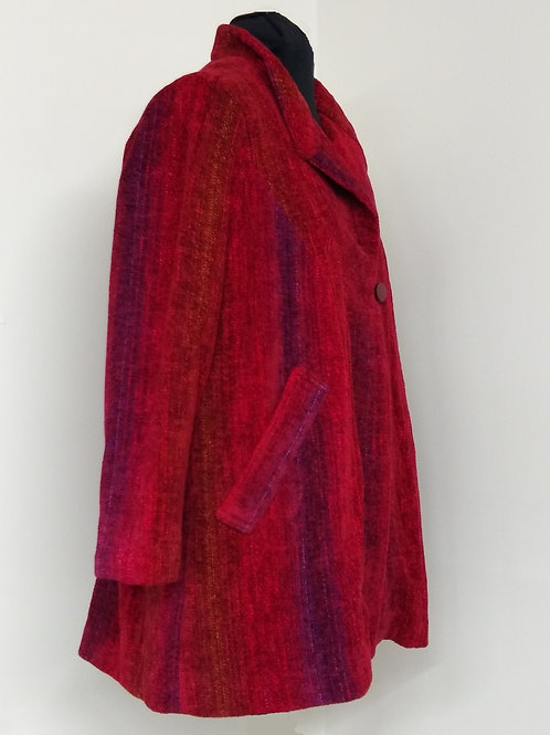 Chenille Swing Coat