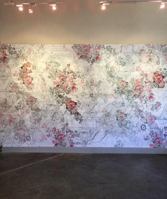 Rosalinda Wallpaper Installation