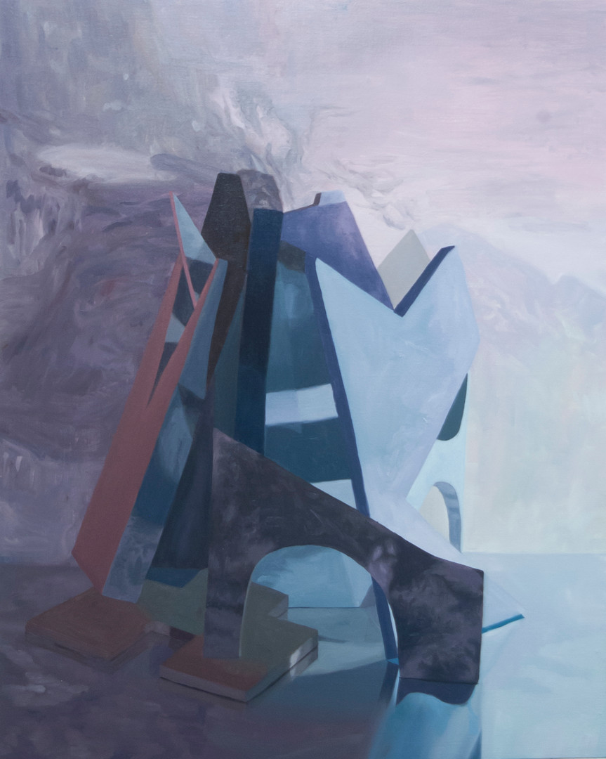 The Shape of Things to Come (11), oil on