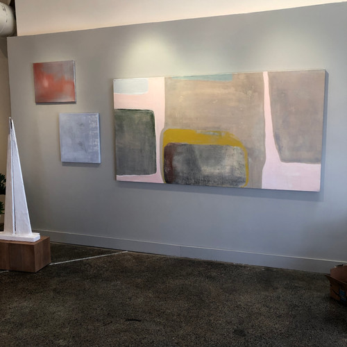 installation view with Bisti