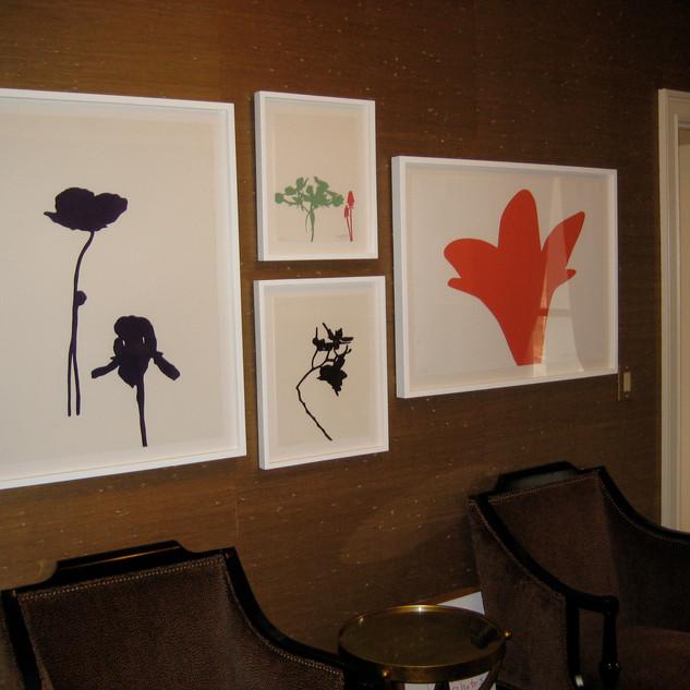 Simons' Study, grasscloth