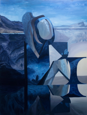 The Shape of Things to Come (7), oil on