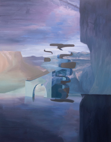 The Shape of Things to Come (6), oil on