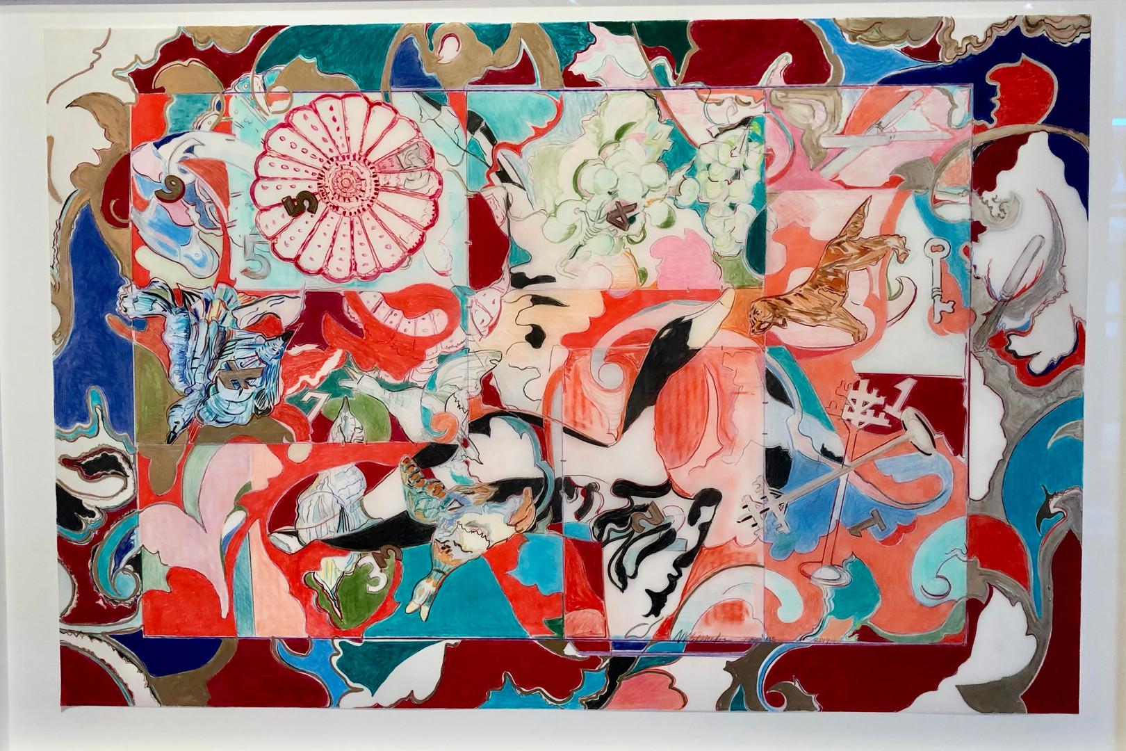 Nancy VanDevender, Seven Rooms, 2019