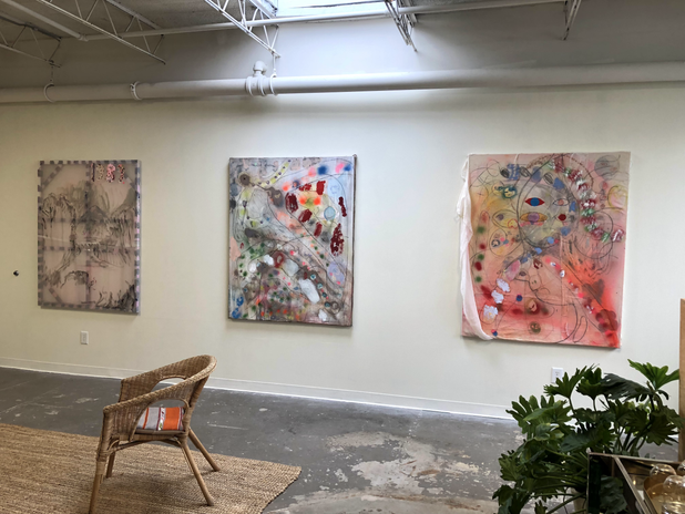 gallery view: Hannah Tarr, Angel of the Industrial Park