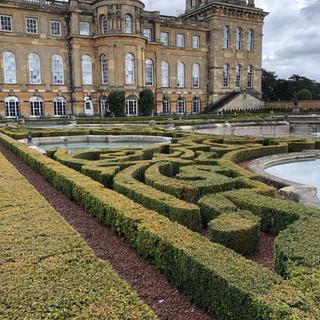 Formal gardens, Blenheim Palace
