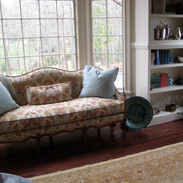 Simons' residence living room