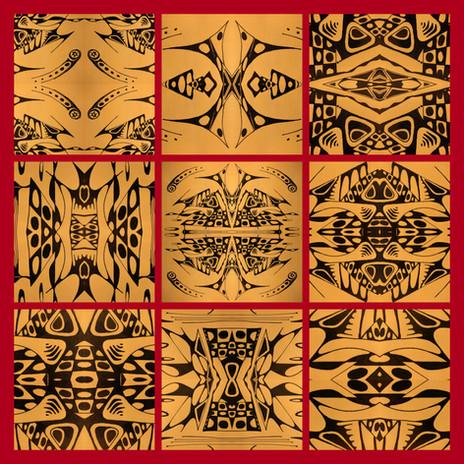 #ArchaeologyOfArt Astral Signs Tile 3