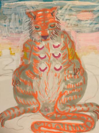 Tigress Awaiting