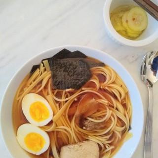 Homemade Ramen Shoyu.
