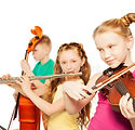 close-up-view-kids-playing-musical-instr