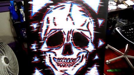 Glitched Skull