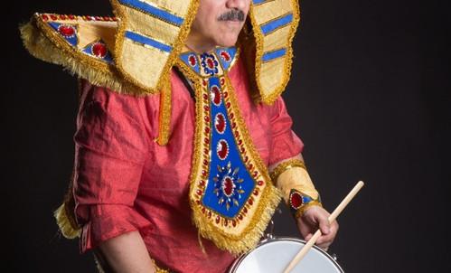 Samba drummers
