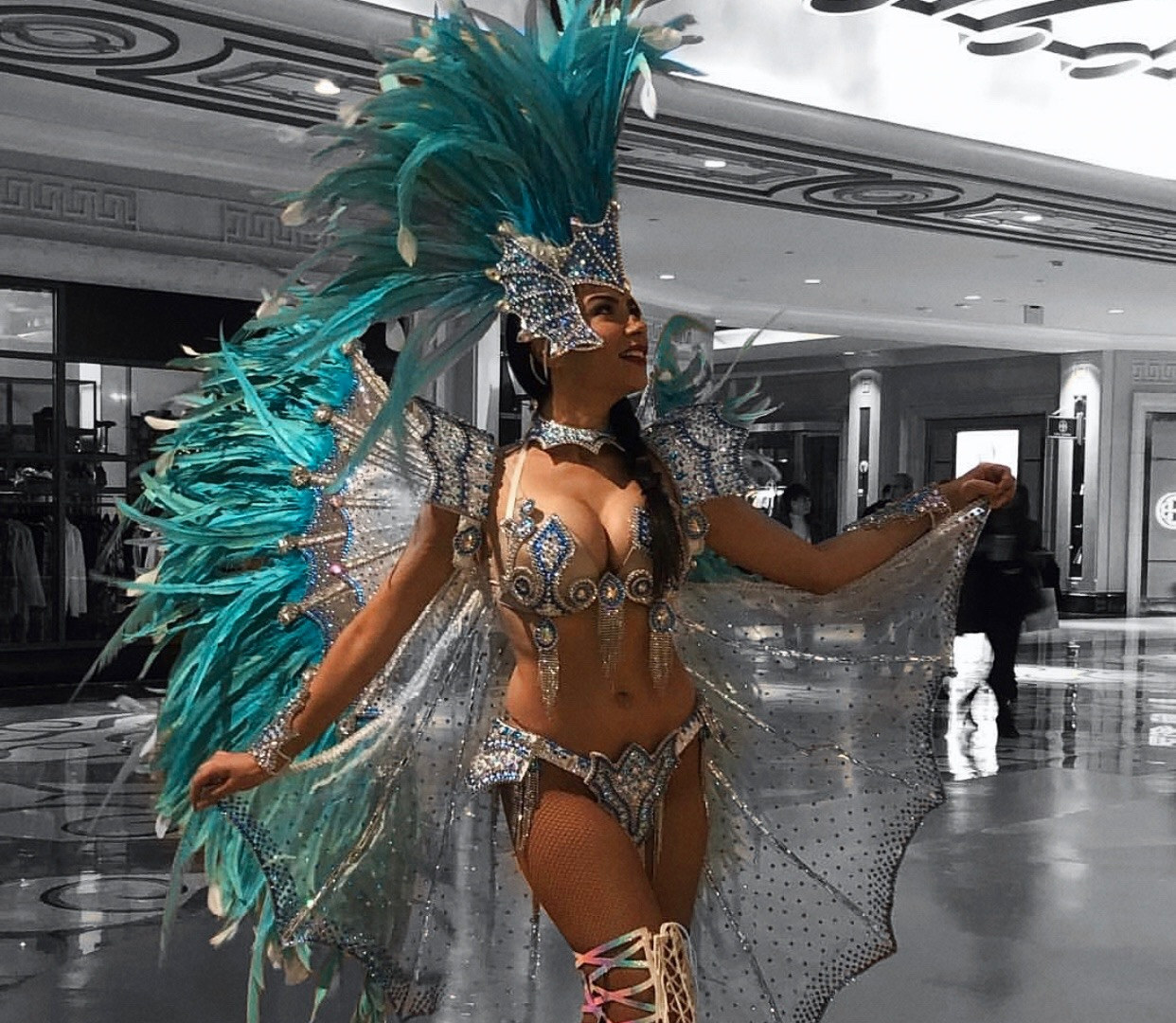 Samba Dancers , Los Angeles, CA