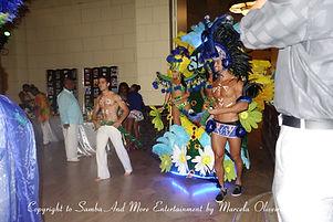 Brazilian Carnaval Parade Show