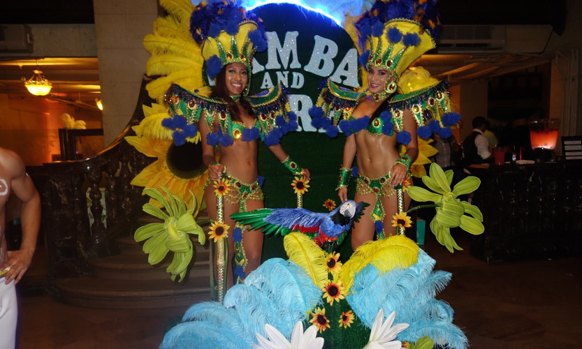 We bring Carnaval to you. Brazilian Ente