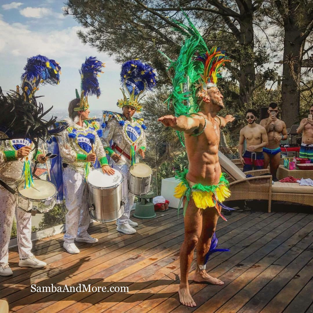 Male samba Dancer by Samba And More
