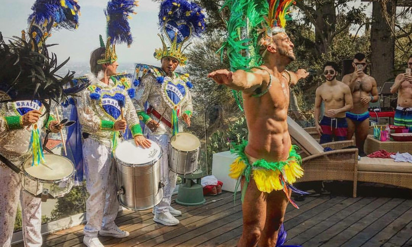 Male samba Dancer by Samba And More