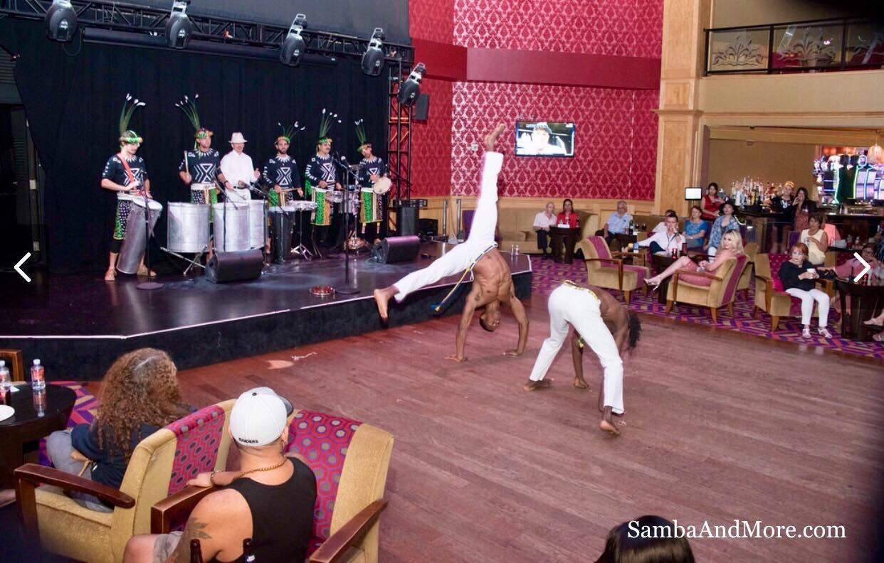 Capoeira Brazil. Acrobat