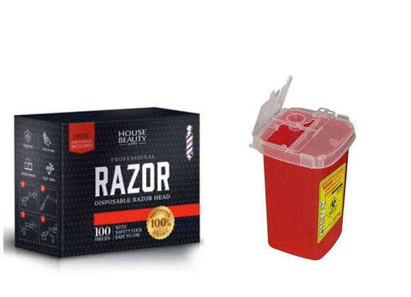 HBS DISPOSABLE RAZOR Combo
