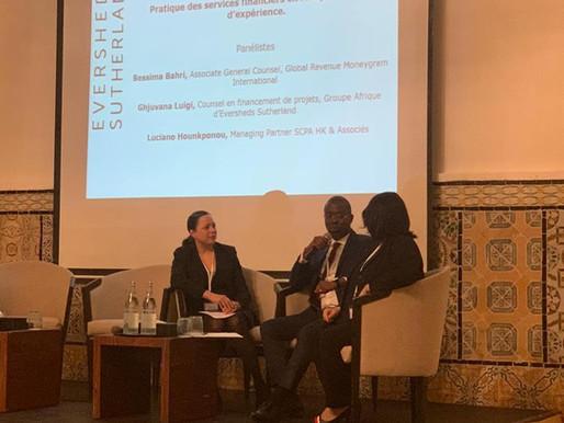 Luciano Hounkponou au 1er Sommet francophone africain