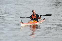 Elke van Ewyk paddling past Cattai in the 2016 Classic Photo courtesy of Abbey Digital