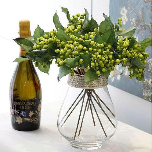 玻璃容器-水種玻璃花瓶-大