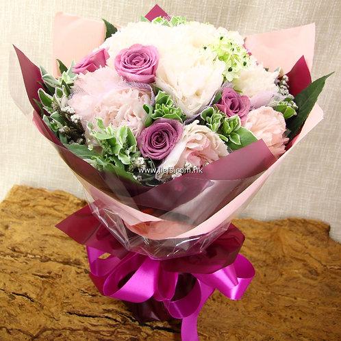 牡丹+玫瑰-花束-108
