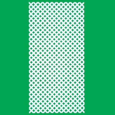 園藝籬笆-4呎X8呎-細格-白色