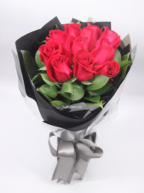 R103-11支-紅玫瑰
