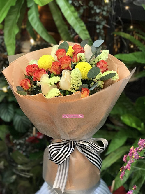 K030-玫瑰花束