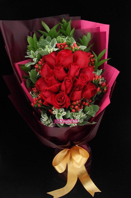 R01-玫瑰18支