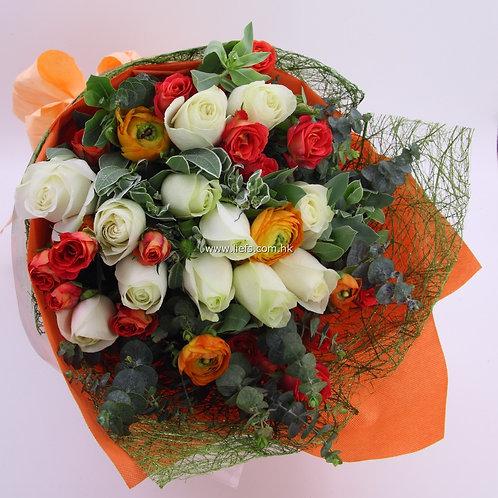玫瑰-花束-92