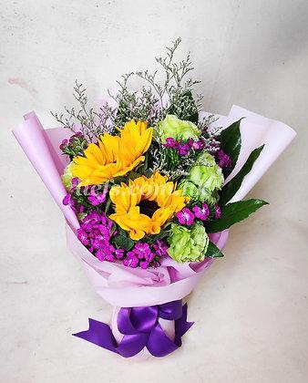 向日葵配襯花11-7-32