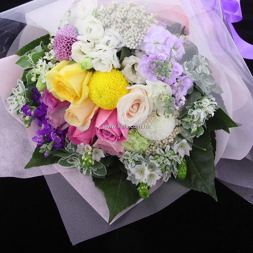 玫瑰-花束60