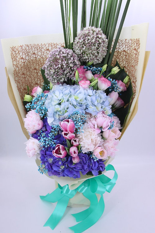 鏽球-屈金香-花束-96