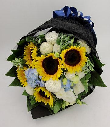向日葵-花束-334