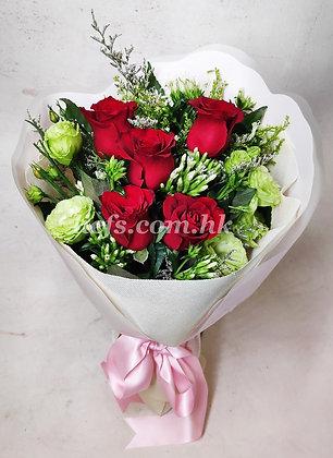 玫瑰花配襯花11-7-35