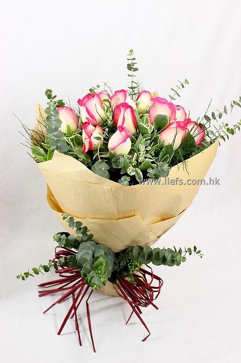 情人節-11支玫瑰花束15