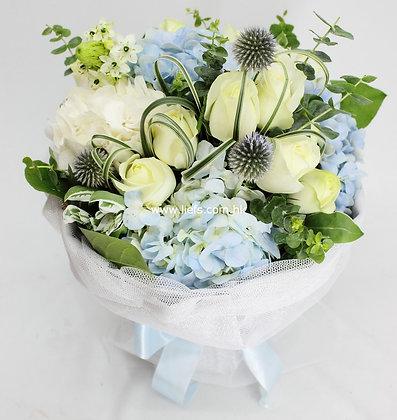 繡球花束4