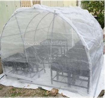 淨網-大型網室專用立體防蟲網(8x8x7尺)不含配件