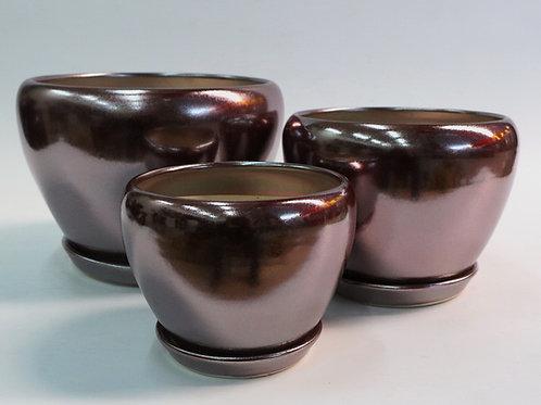 陶瓷花盆-細-L38